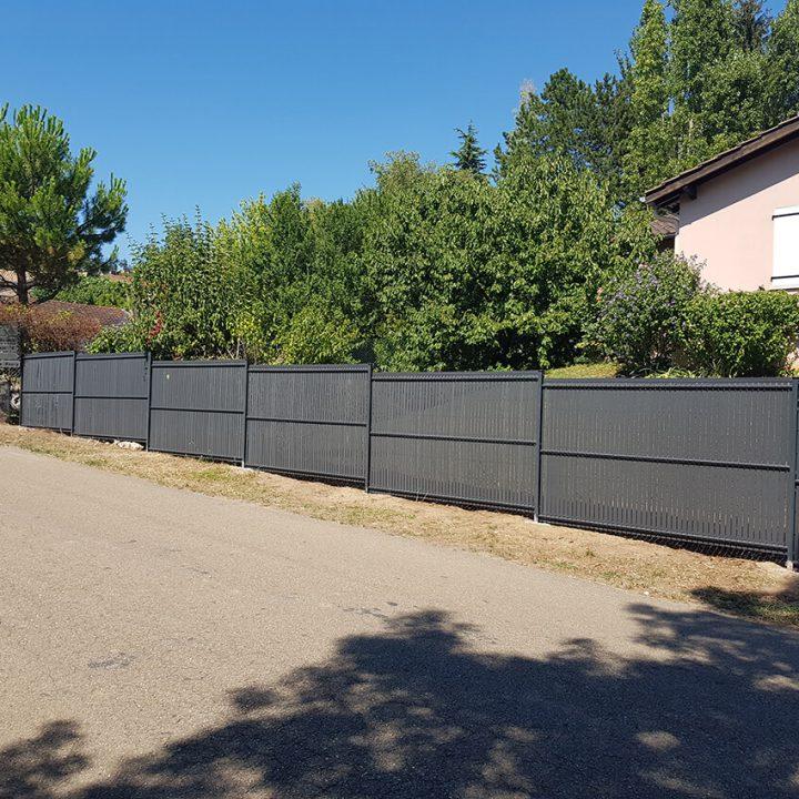 clôture avec occultant à Bourg-en-Bresse 2