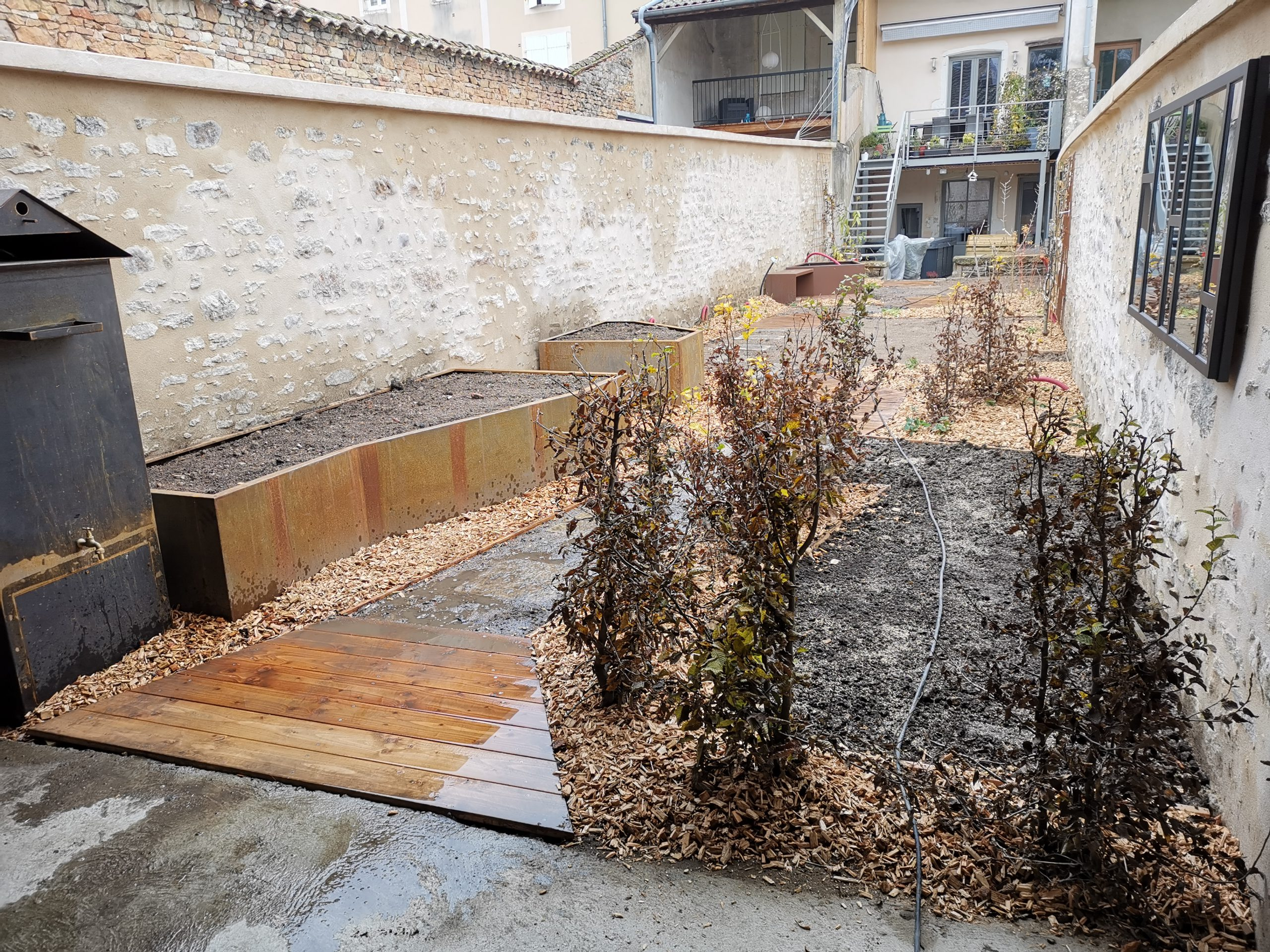 création de jardin avec allée 2