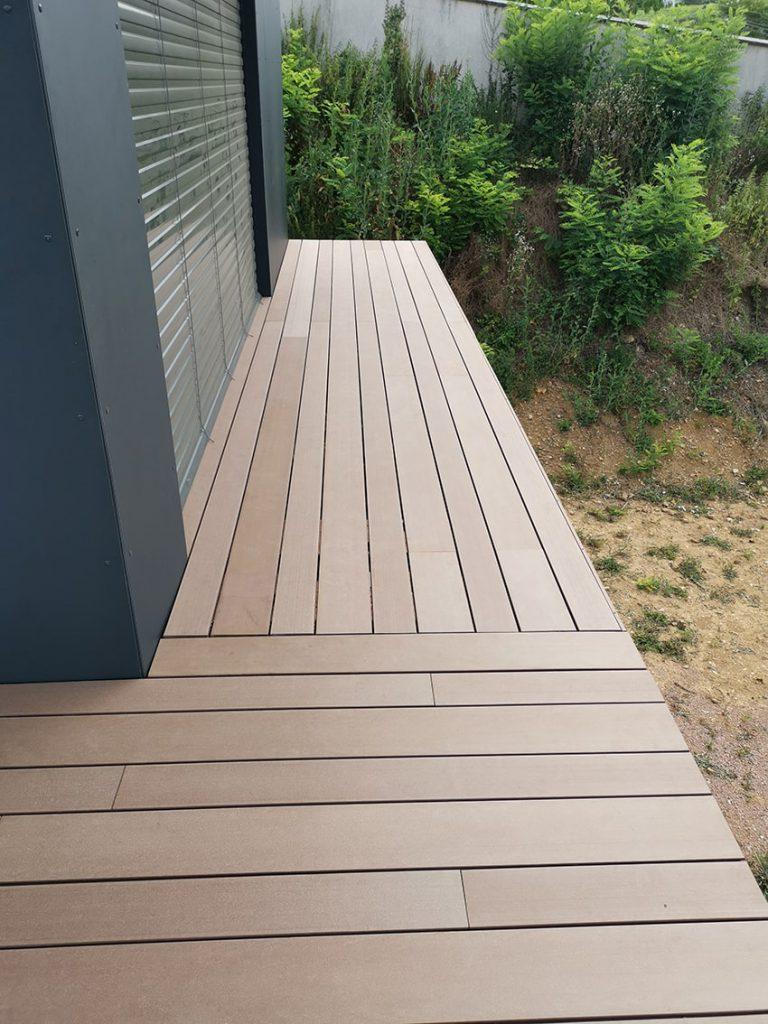 création terrasse en composite