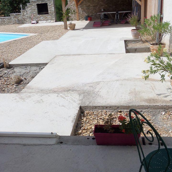 dallage de terrasse à Belleville-sur-saone 3